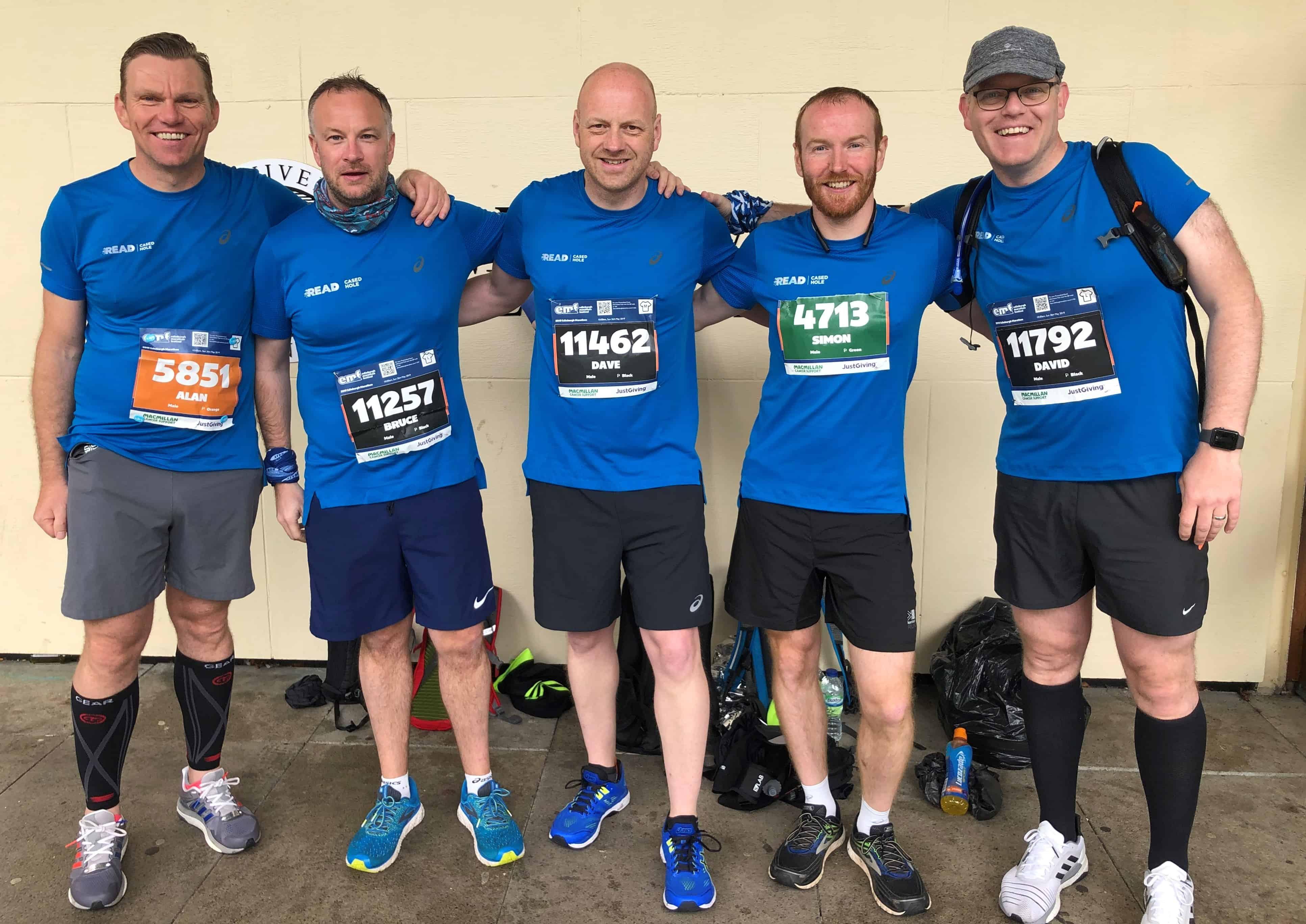 READ Cased Hole Edinburgh Marathon